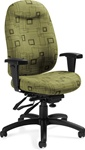 Granada Deluxe Desk Chair 1170-3 by Global