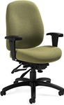 Granada Deluxe Desk Chair 1171-3 by Global