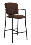 "Twilight 2196 Contemporary 45"" High Barstool with Arms by Global"