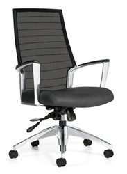 Accord High Back Mesh Chair 2676LM-4 by Global