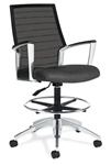 Accord Mesh Back Drafting Chair 2678LM-6 by Global