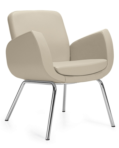 Global Total Office Kate Series Contemporary Lounge Chair 2813LM