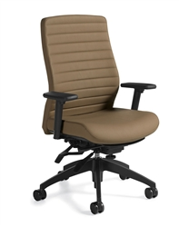 Aspen Leather Office Chair 2851LM-3 by Global