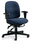 Granada Low Back Desk Chair 3121 by Global