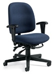 Granada Low Back Computer Chair 3212 by Global