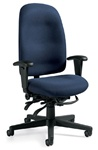 Granada High Back Desk Chair 3217 by Global