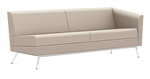 Leather Wind Linear Series Left Arm Sofa 3363LLM by Global