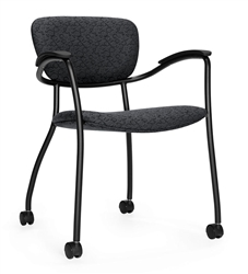 Caprice Series 3365C Mobile Training Room Chair by Global