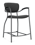 Caprice Series Contemporary Counter Height Stool 3370 by Global