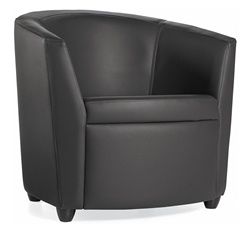 modern office lounge chairs. Sirena 3371LM Leather Lounge Chair By Global Modern Office Chairs