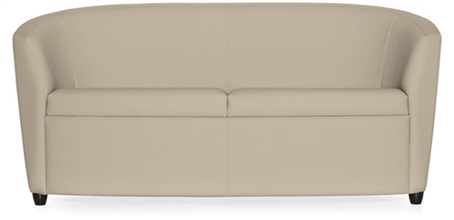 Sirena Series 2 Seat Leather Sofa 3373LM by Global