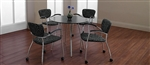 "Wind Series 36"" Round Meeting Table 3863 by Global"