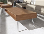 Wind Linear Series Contemporary Coffee Table 3880 by Global