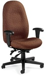 Enterprise High Back Office Chair 4570-3 by Global