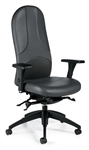 Obus Ultraforme High Back Synchronized Office Chair 5440LM-1 by Global