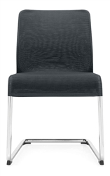 5940 Lite Series Sled Base Mesh Guest Chair by Global