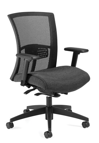Global Total Office Mid Back Vion Mesh Chair 6322 8