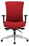 Vion 6331-0 High Back Office Chair with Back Angle Adjustment by Global