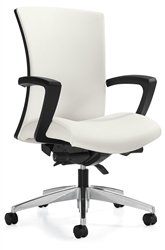 Vion 6331-0-C High Back Ergonomic Conference Chair by Global