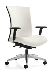 Vion High Back Weight Sensing Office Chair 6331-8 by Global
