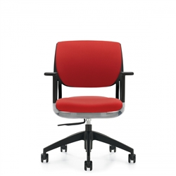 Global 6402 Model Novello Modern Fabric Office Chair