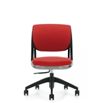 Global Model 6403 Novello Fully Upholstered Armless Office Chair