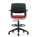 Global Novello 6410 Adjustable Modern Drafting Chair
