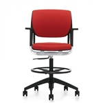 Global Novello Series Drafting Chair 6412