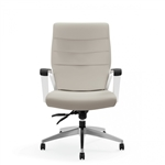 Global 6461LM Luray High Back Leather Office Chair