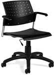 Sonic Low Back Task Chair 6567 by Global