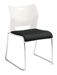 Duet Side Chair 6623 by Global (4 Pack)