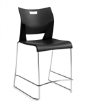 Armless Duet Barstool 6631 by Global
