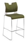 Armless Duet Barstool 6638 by Global