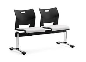 Excellent Duet Series 2 Person Beam Chair By Global Total Office Machost Co Dining Chair Design Ideas Machostcouk
