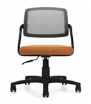 Global Spritz Collection 6763-6 Armless Office Chair