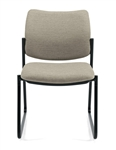 6903 Sidero Armless Sidechair with Sled Base by Global