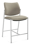 Sidero Armless Counter Height Stool 6905 by Global