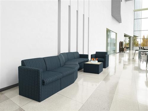 Global Braden Serpentine Lounge Furniture Set