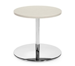 "Jeo Contemporary 24"" Round End Table 8435-22-24 by Global"