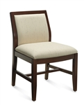 Layne Armless Wood Guest Chair 8520T by Global