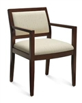 Layne Series Wood Armchair 8522T by Global