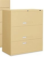 9100P 3 Drawer Lateral File Cabinet by Global
