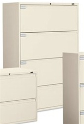 Global 4 Drawer Lateral File Cabinet 9136P-4F1H