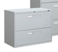 9300 Series 2 Drawer Lateral File Cabinet by Global