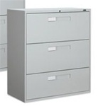 9300 Series 3 Drawer Lateral File 9336-3F1H by Global