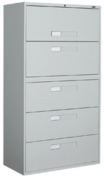 9300 Series Lateral File Cabinet 9336-5F1H by Global