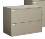 Fixed Front Lateral File Cabinet 9336P-2F1H by Global