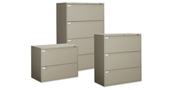 9300 Series Lateral File Cabinet Set by Global