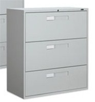 3 Drawer Lateral File 9342-3F1H by Global