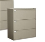 Global 3 Drawer Lateral File Cabinet 9342P-3F1H